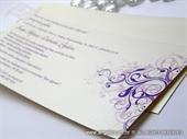 Pozivnica za vjenčanje Purple Line