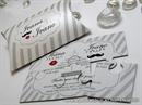 Pozivnica za vjenčanje - Small Puzzele Mustache