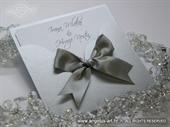 Pozivnica za vjenčanje - True Silver Charm