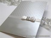 Pozivnica za vjenčanje - Silver Shine Charm