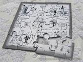 Pozivnice za vjenčanje - Puzzle 15cm