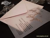 Pozivnica za vjenčanje - Transparent Foil Line