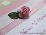 roza pozivnica s ružom detalj