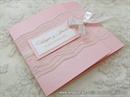 Pozivnica za vjenčanje - Pink Classic Lace Invitation