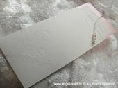 Pozivnica za vjenčanje Charm Pearl Pink
