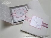 Ekskluzivna tvrdo ukoričena pozivnica Exclusive Pink Book