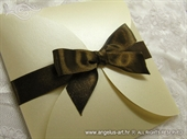 Wedding invitation - Brown Beauty