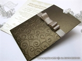 Pozivnica za vjenčanje - Brown Charm