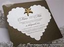 Pozivnica za vjenčanje - Heart and Star Shape