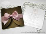 smedje roza pozivnica za vjencanje sa masnom