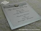 Pozivnica za vjenčanje Beach Silver Fairy Tale