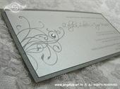 Pozivnica za vjenčanje Exclusive Silver Line