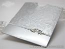 Pozivnica za vjenčanje Metallic Butterfly Charm
