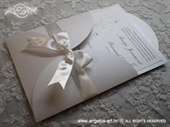 Wedding invitation - White Butterfly Beauty