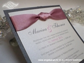 Wedding invitation - Lovely in Pink
