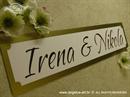 Auto tablica za vjenčanje TIP 6