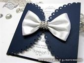 Pozivnica za vjenčanje - Royal Blue Lace Diva