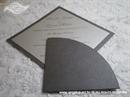 Pozivnica za vjenčanje Diamond Silver Simple