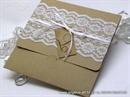 Pozivnica za vjenčanje - Vintage Lace New classic