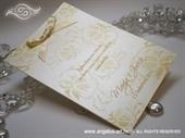 Zahvalnica za vjenčanje Gold Blossom