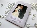 Lila zahvalnica za vjenčanje sa slikom