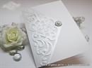 Zahvalnica za vjenčanje -  Luxury White 1