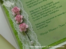 Ekskluzivna čestitka - Pink Roses