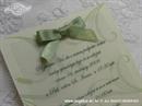Pozivnica za vjenčanje Green Blossom