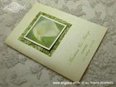 Zahvalnica za vjenčanje Zelena kala