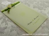 Zahvalnica za vjenčanje Green Flower