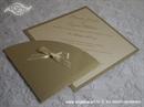 Pozivnica za vjenčanje Diamond Gold Simple