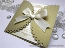 Pozivnica za vjenčanje - Golden Lace Diva