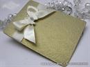 Pozivnica za vjenčanje - Golden Stylish Butterfly
