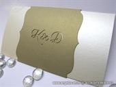 Pozivnica za vjenčanje - Golden True Love - L