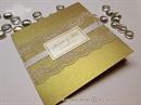 Pozivnica za vjenčanje - Golden Lace Stylish
