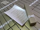 Pozivnica za vjenčanje History Gold svitak
