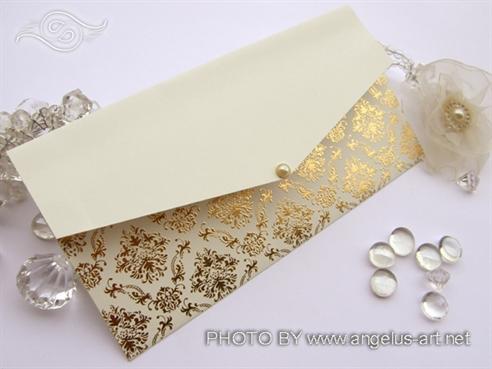 Cream Gold Letter