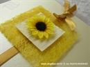 Pozivnica za vjenčanje Romantic Sunflower